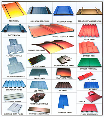 Metal Roof Styles